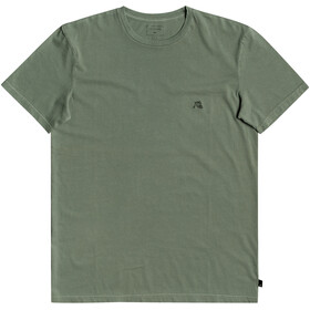 Quiksilver Basic Bubble Emby SS Tee Men, blue spruce